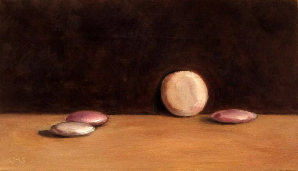 """Chocolate Lentils"" original fine art by Ulrike Miesen-Schuermann"