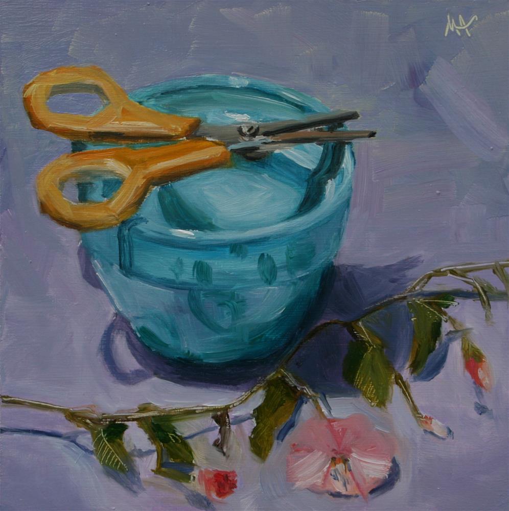 """A Snip"" original fine art by Aniko Makay"