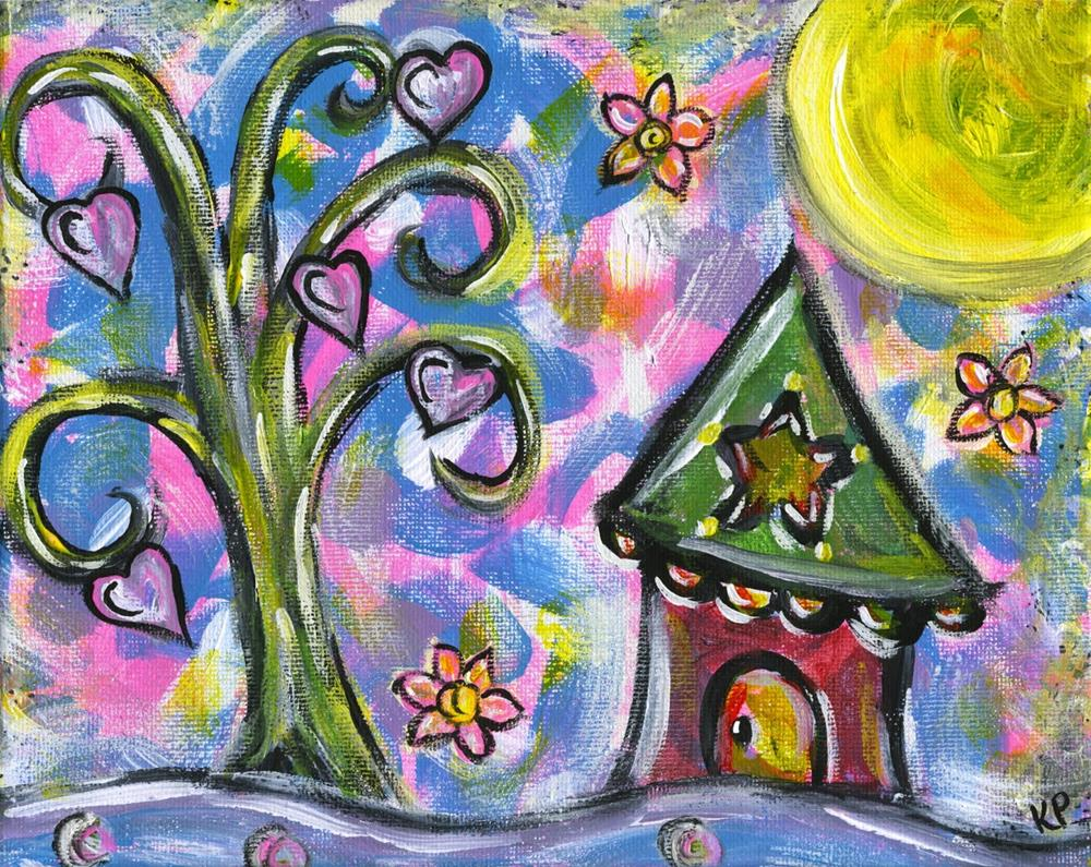 """Home Sweet Home"" original fine art by Kali Parsons"
