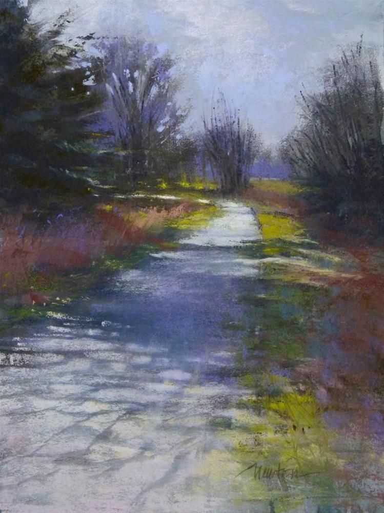 """Sunday Walk"" original fine art by Barbara Benedetti Newton"