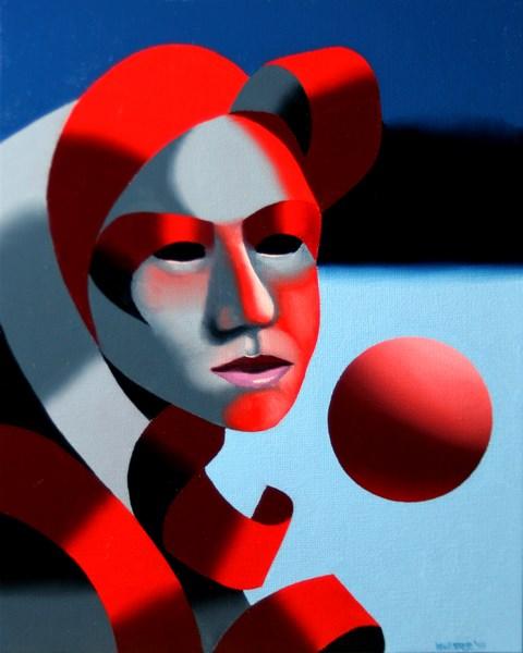"""Mark Adam Webster - Dark Matter Painting Series #6"" original fine art by Mark Webster"