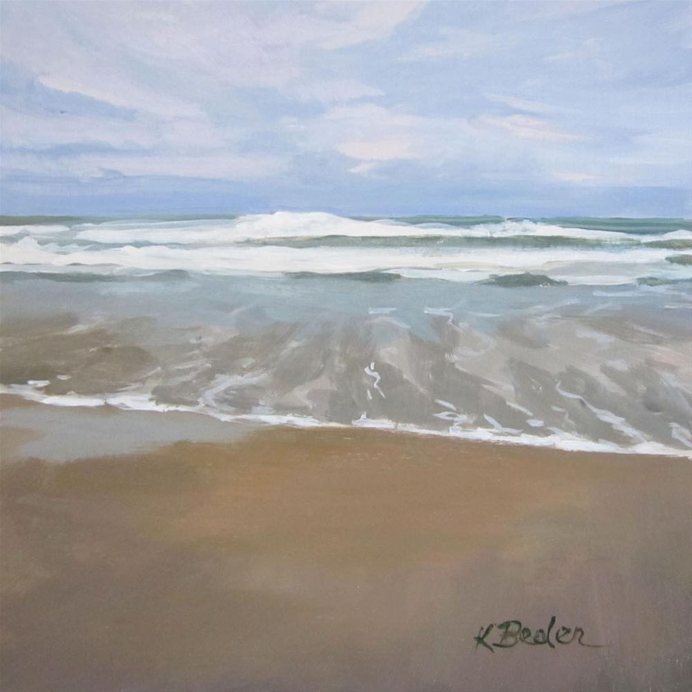 """Ocean"" original fine art by Kaethe Bealer"