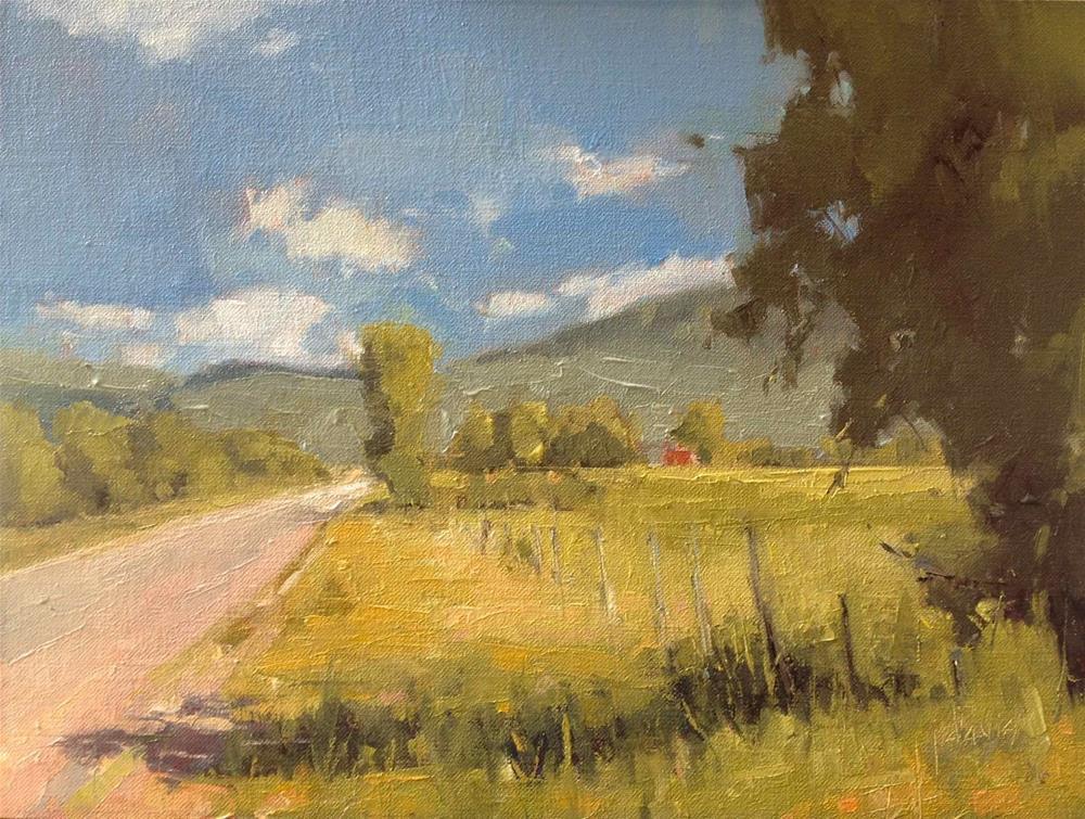 """Summer Road"" original fine art by Julie Davis"