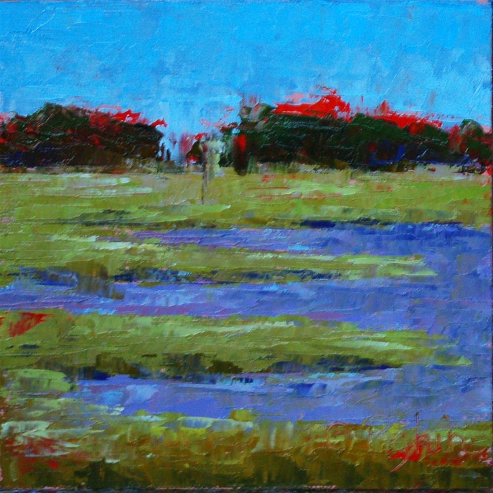"""""""Petite Marsh Memories"""" original fine art by Carol Pighin"""