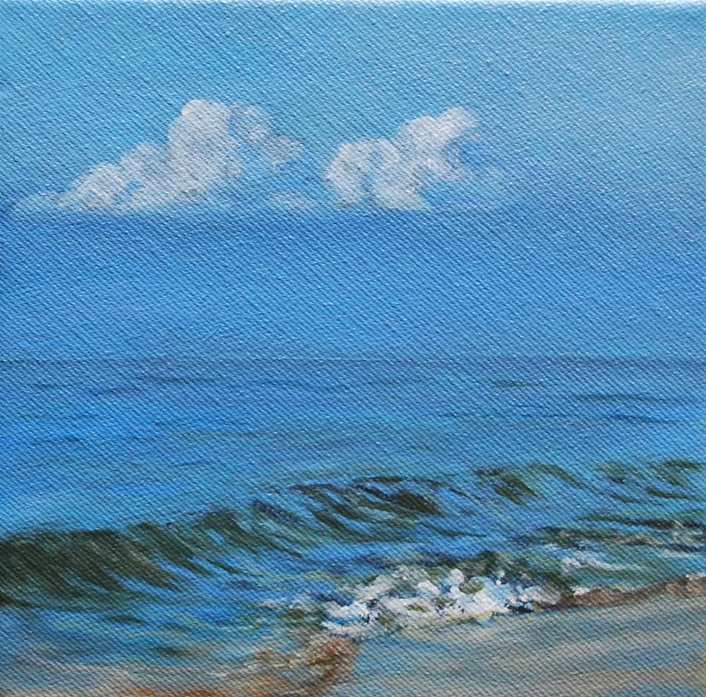 """Morning calm"" original fine art by Beverley Phillips"