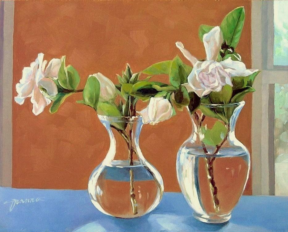 """Between The Sunny Windows"" original fine art by Joanna Bingham"
