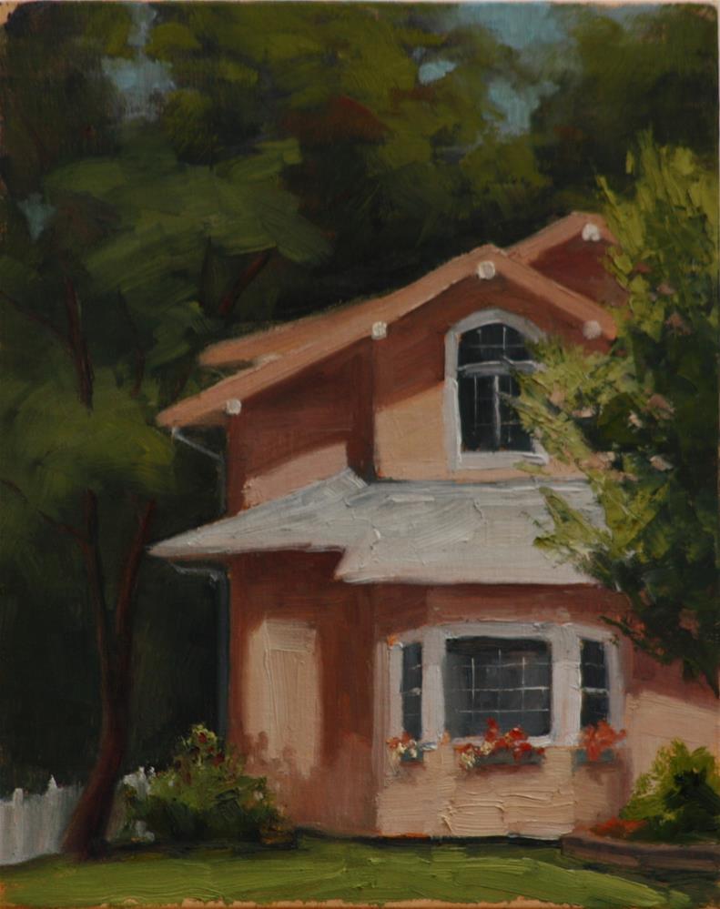 """Morning Light on Spotswood"" original fine art by Sheila Marie"