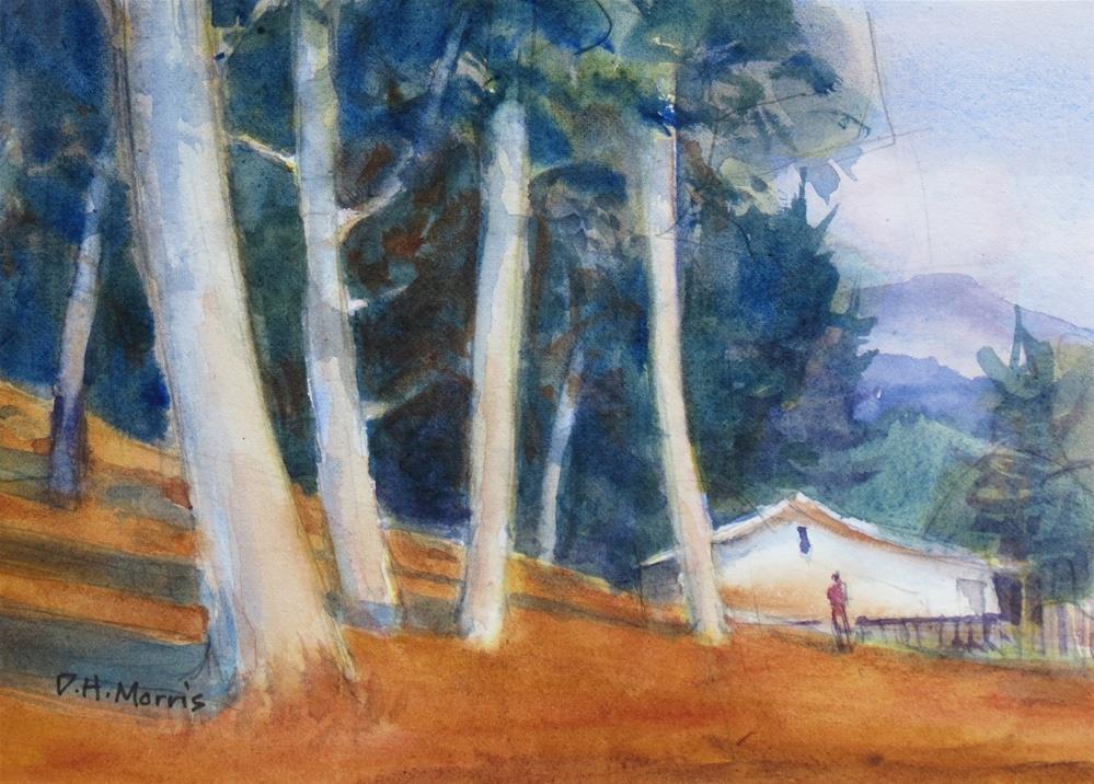 """Edge of the Woods"" original fine art by Dann Morris"
