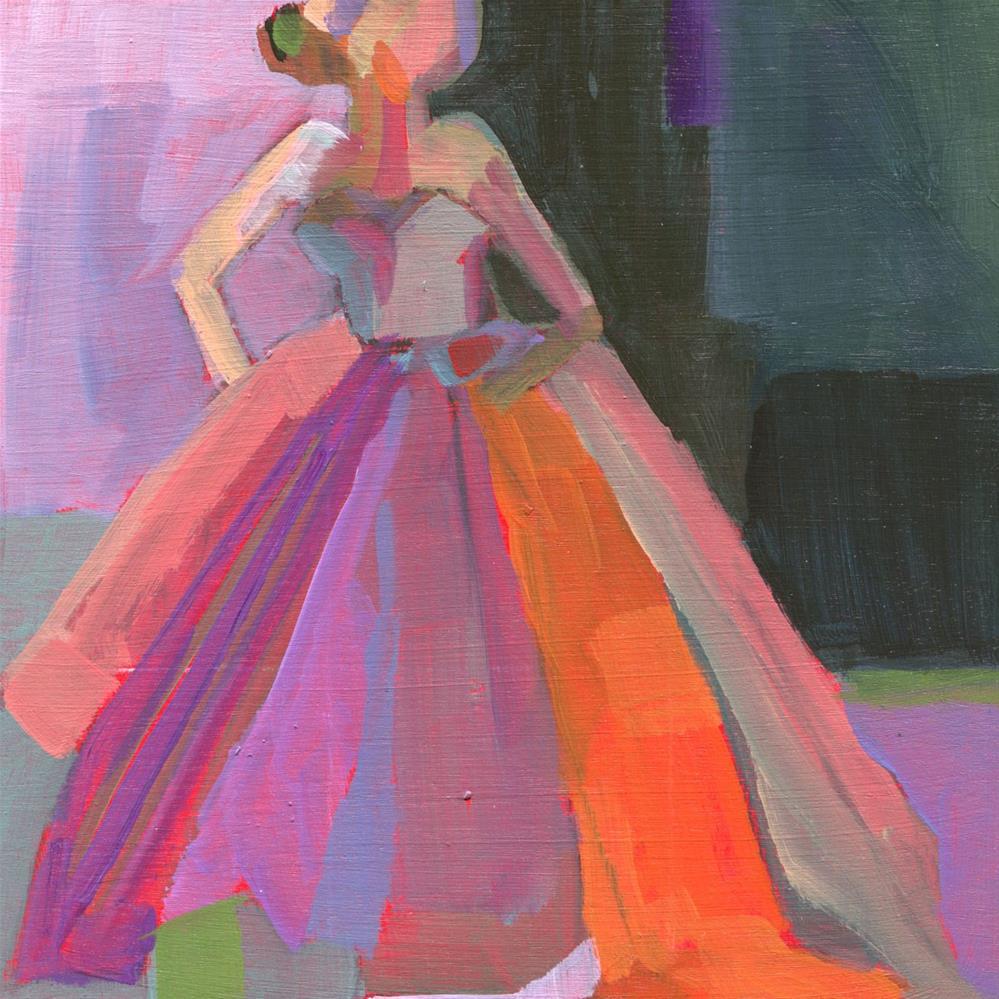 """""""Clock Striking Midnight (#459)"""" original fine art by Debbie Miller"""