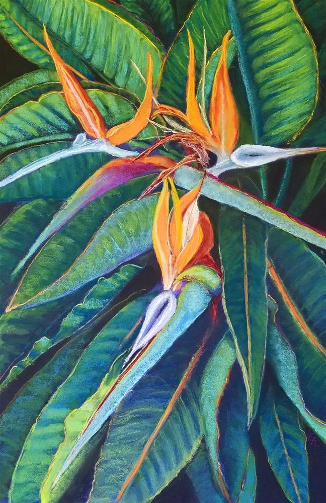 """Paradise Trinity"" original fine art by Anna Lisa Leal"