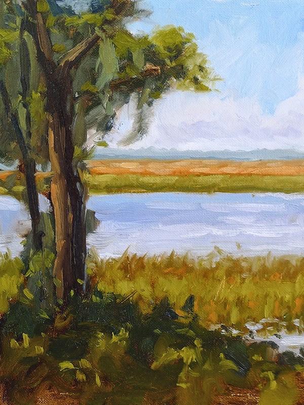 """No. 234 - Gascoigne Bluff"" original fine art by Adam Houston"