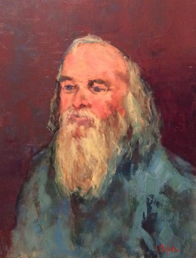 """Clive"" original fine art by John Shave"