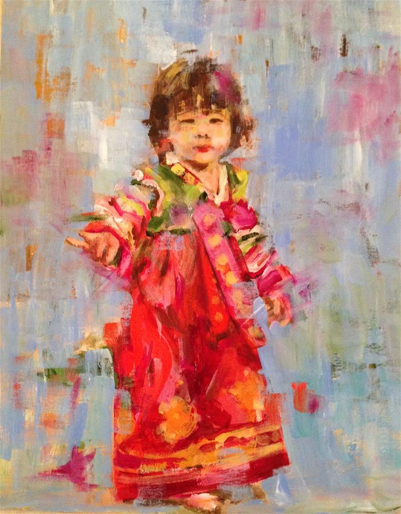 """Innocence"" original fine art by Molly Wright"