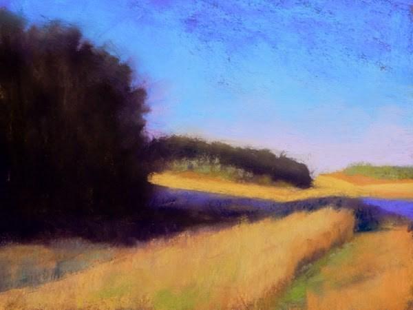 """Along the Road"" original fine art by Carolyn Caldwell"