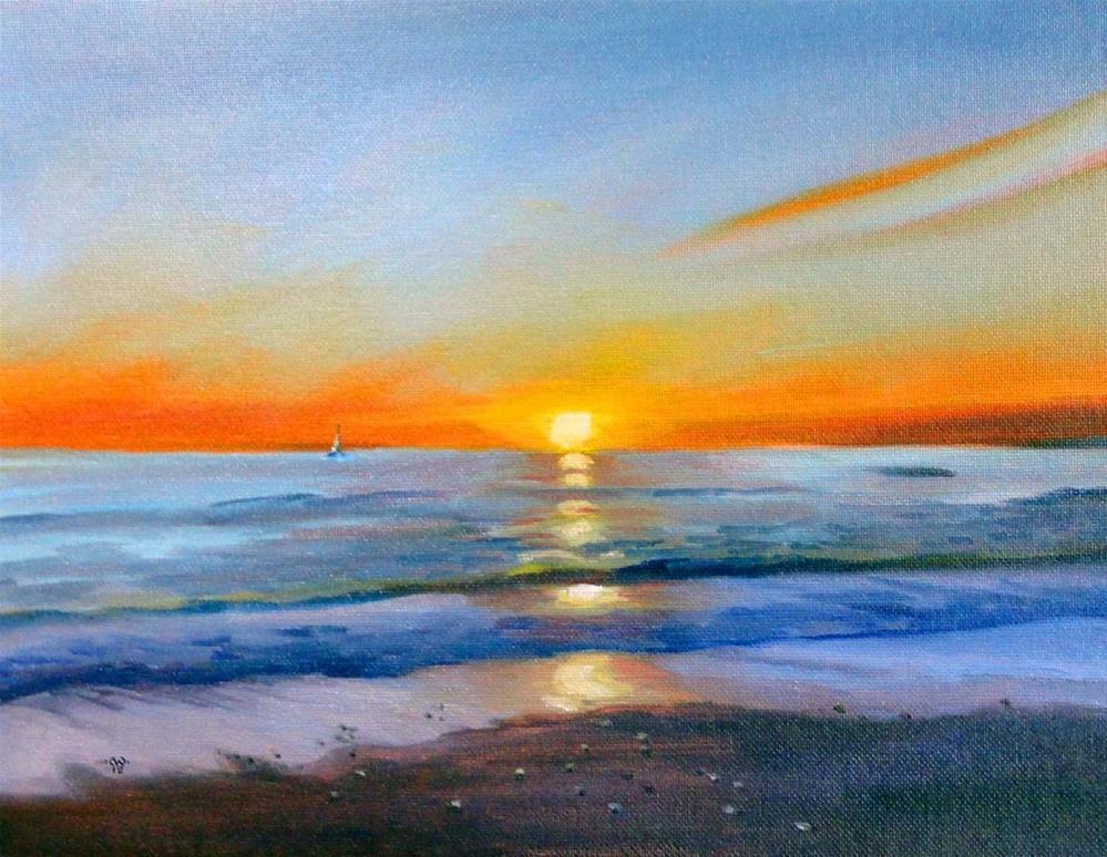 """Sailors' Delight"" original fine art by Cietha Wilson"