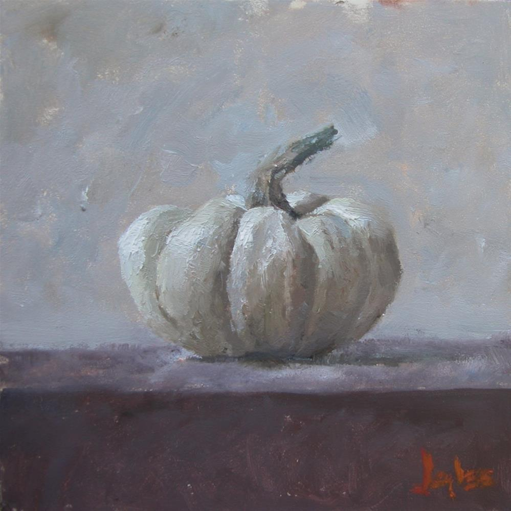 """Small Gourd"" original fine art by Richard Jones"