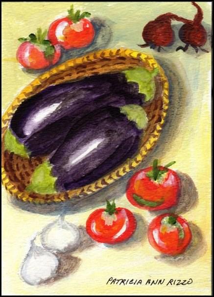 """Let's Cook"" original fine art by Patricia Ann Rizzo"