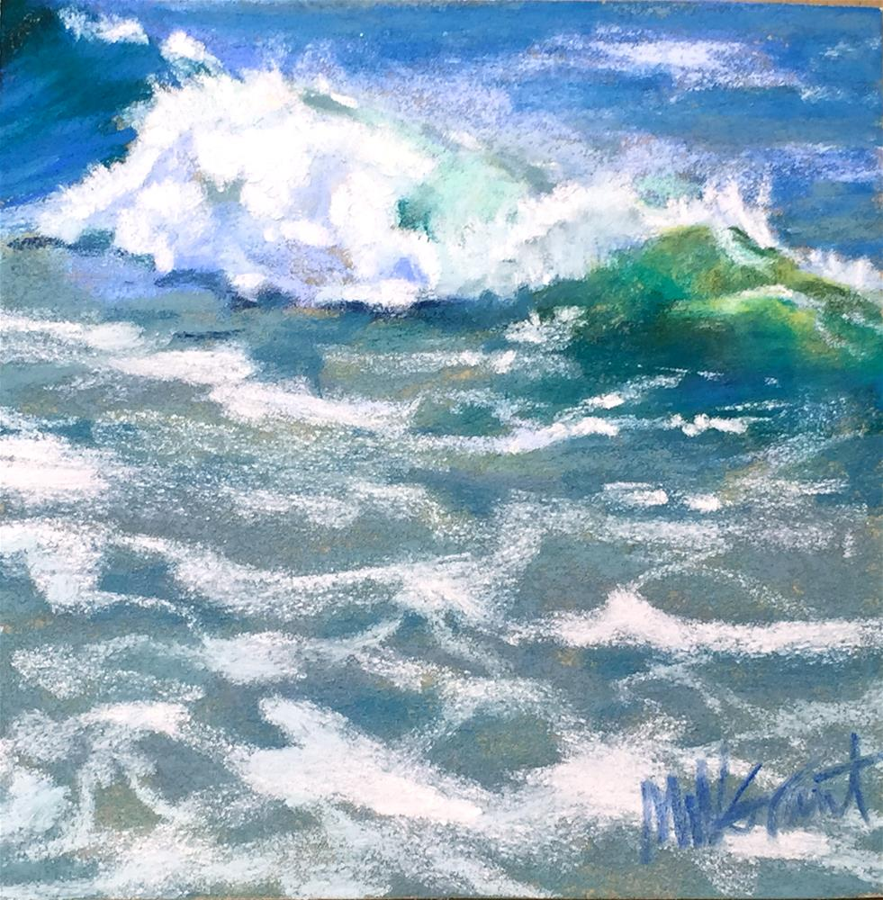 """Splash and Spray"" original fine art by Michelle Wells Grant"