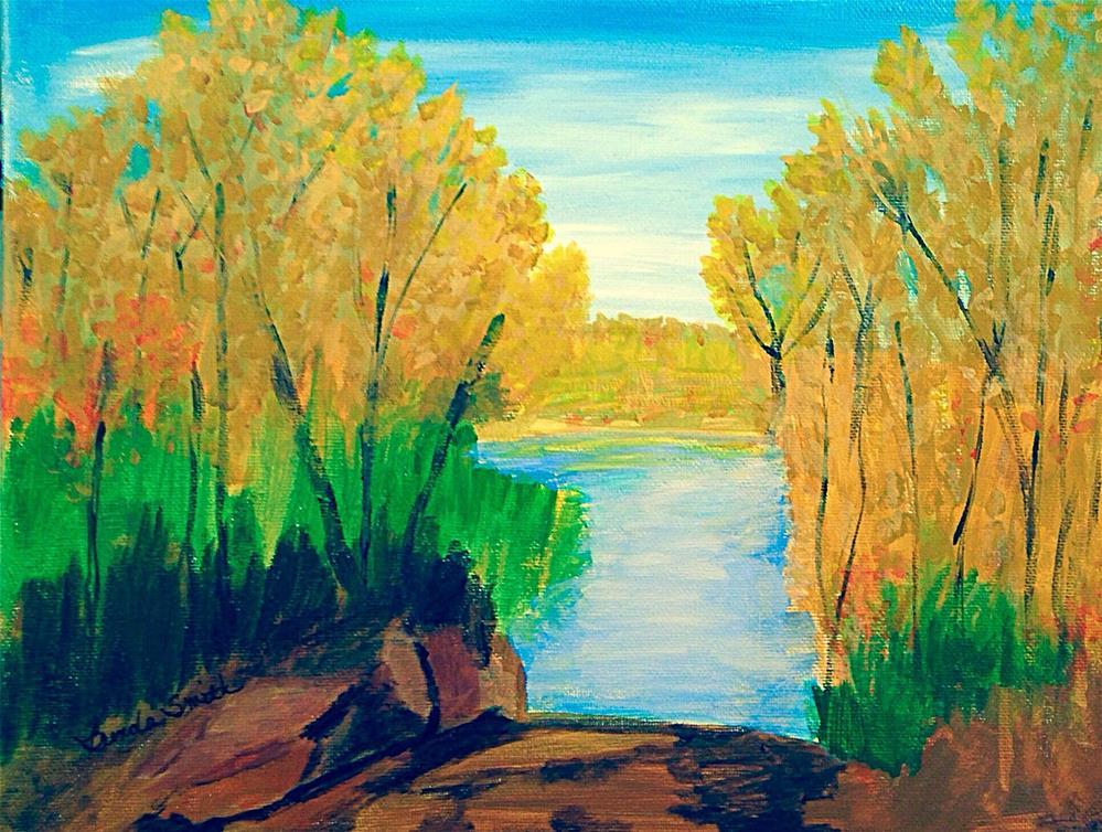 """Fall"" original fine art by Brenda Smith"
