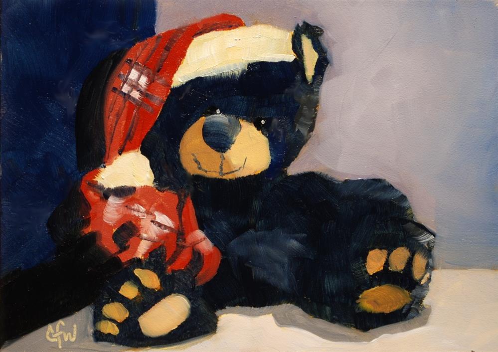 """Bear"" original fine art by Gary Westlake"