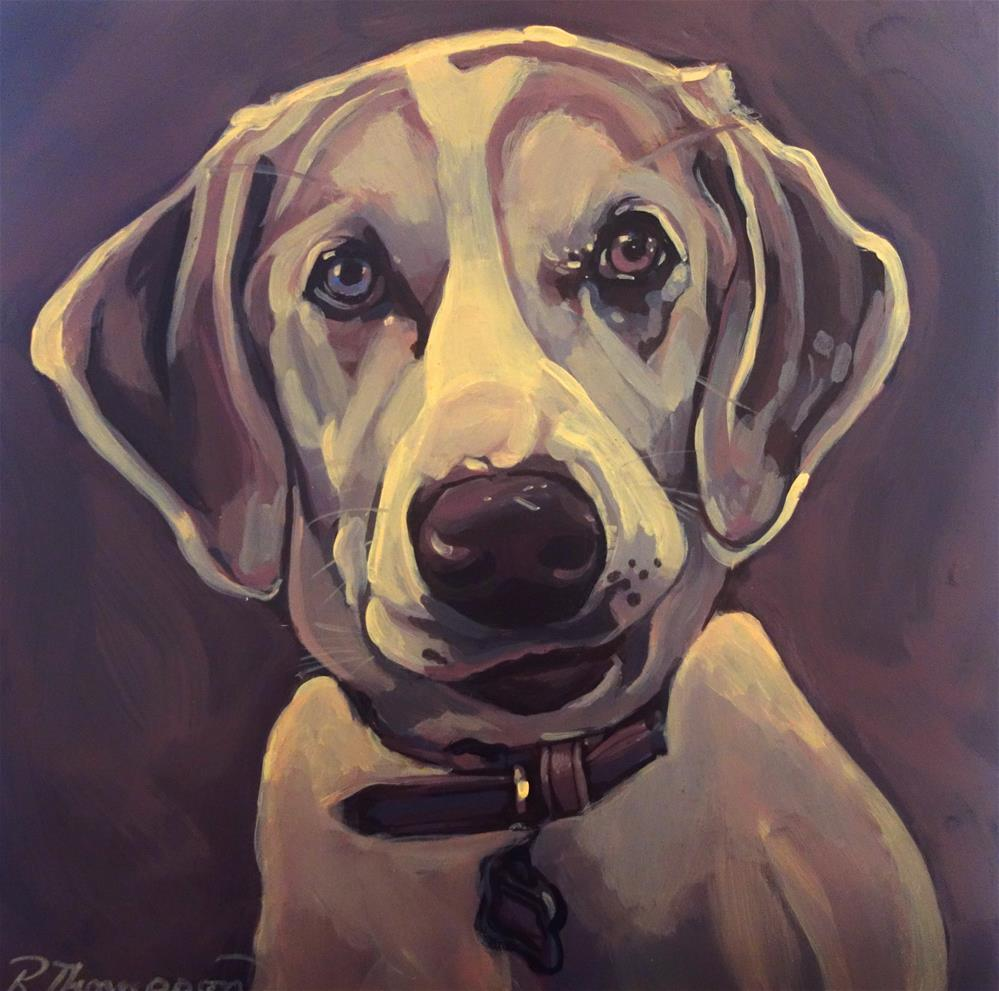 """Sadie"" original fine art by Rachel Thompson"