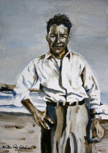 """Ramon"" original fine art by JoAnne Perez Robinson"