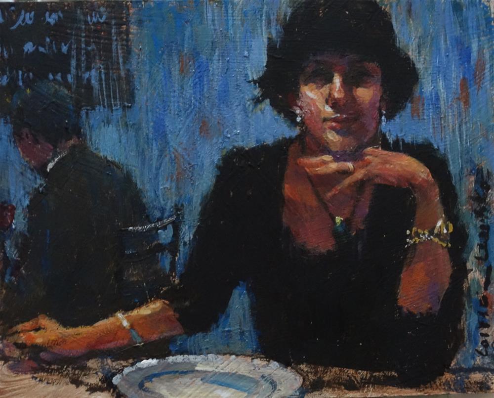 """Mystery"" original fine art by Lorraine Lewitzka"