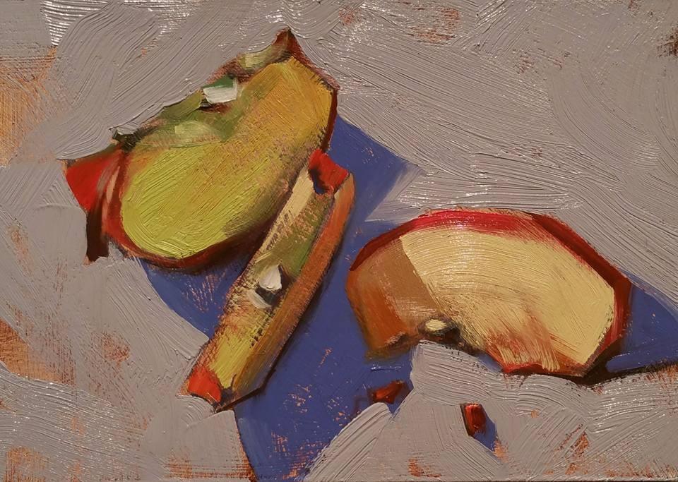 """""""Sweet Honey Crisp"""" original fine art by Jennifer Evenhus"""