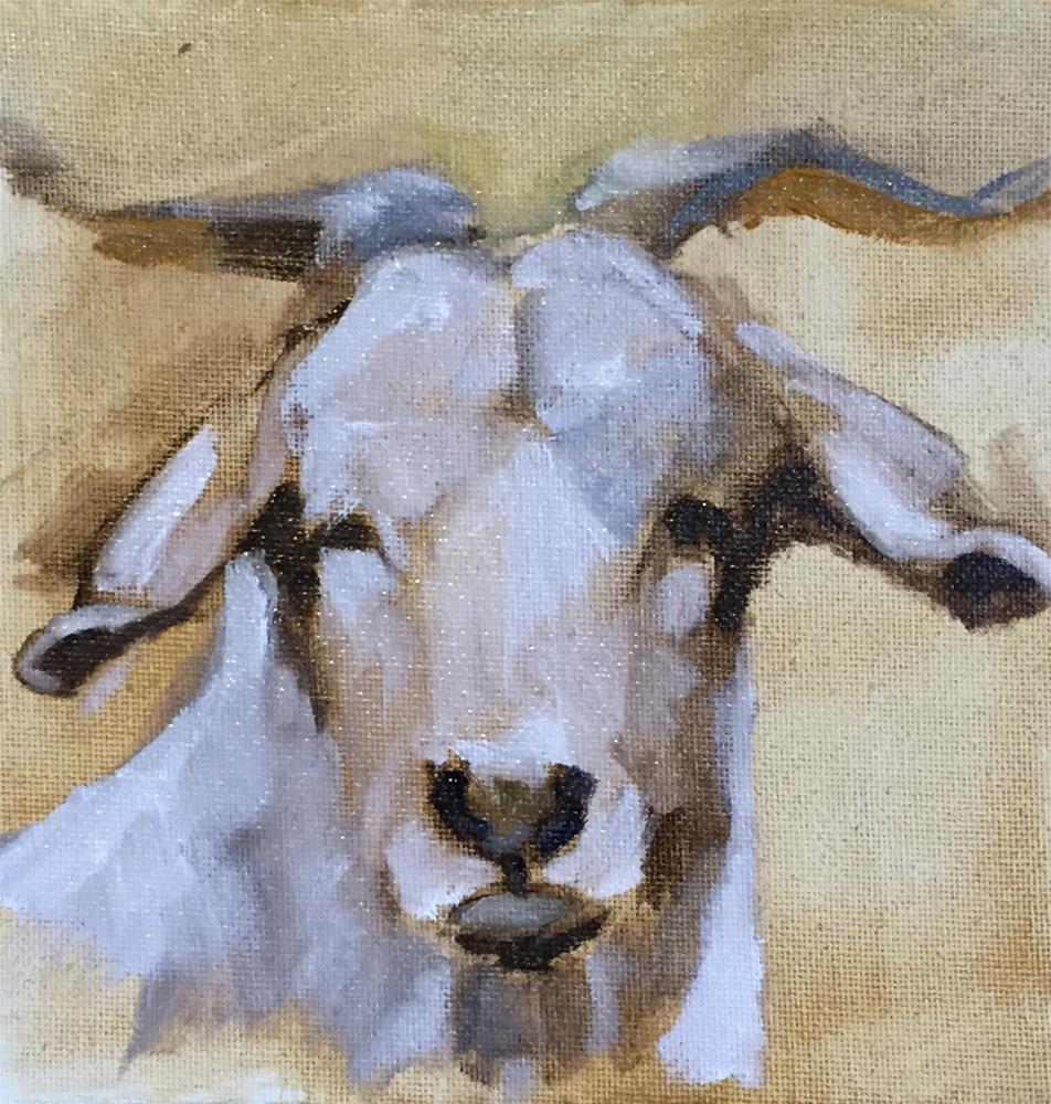 """Billy"" original fine art by David Wesselman"