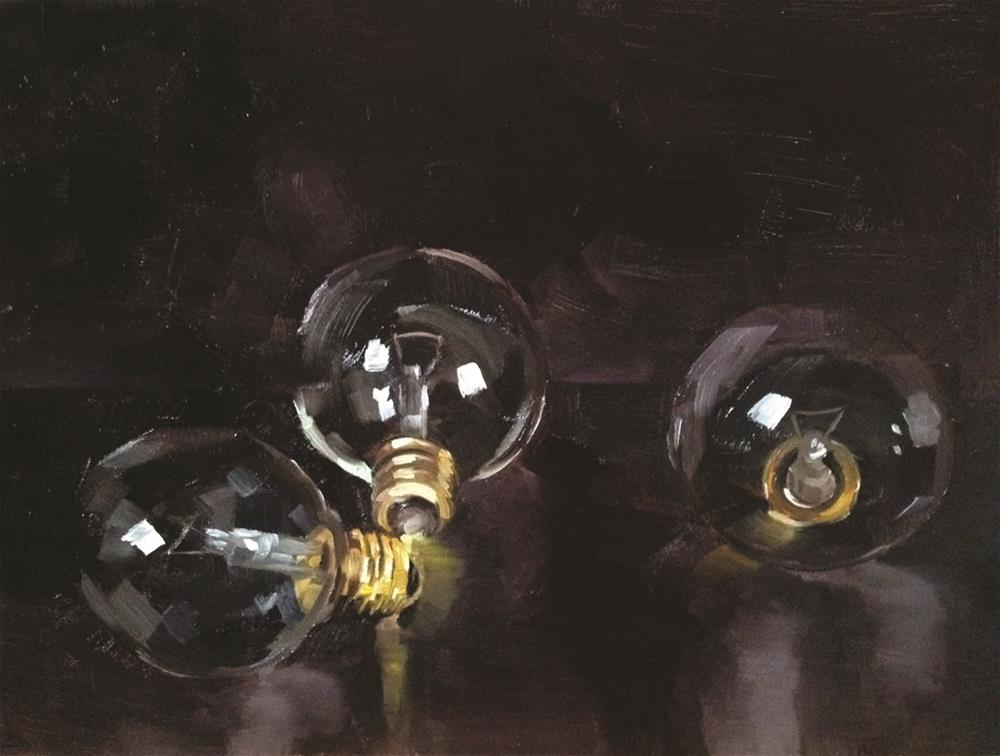"""Bulbs"" original fine art by Cory Proulx"