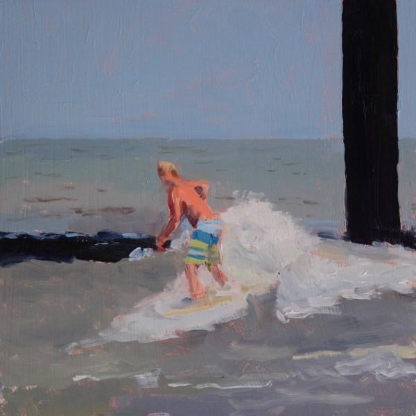 """Surf Inside"" original fine art by Randall Cogburn"