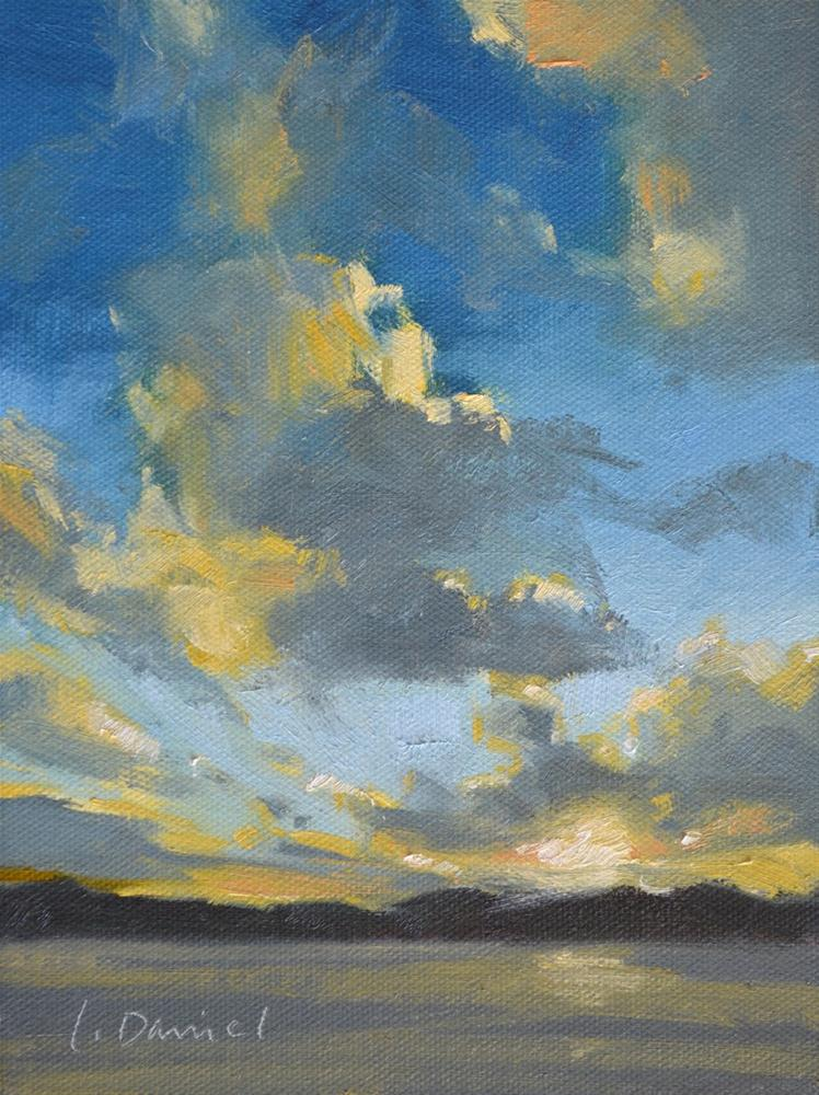 """Morning Sky"" original fine art by Laurel Daniel"