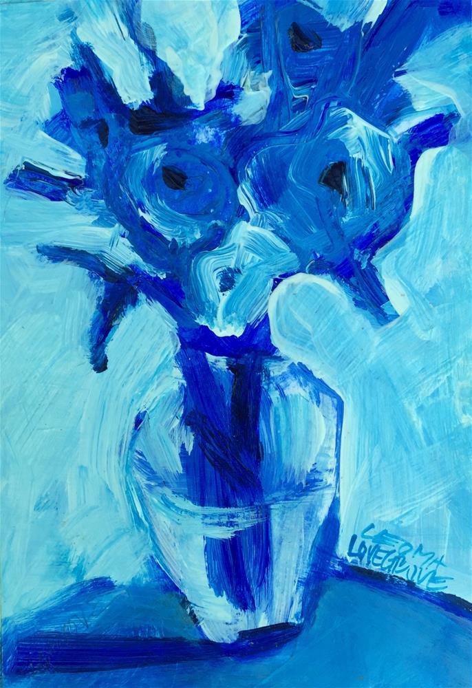 """Fresh Cut"" original fine art by Leoma Lovegrove"