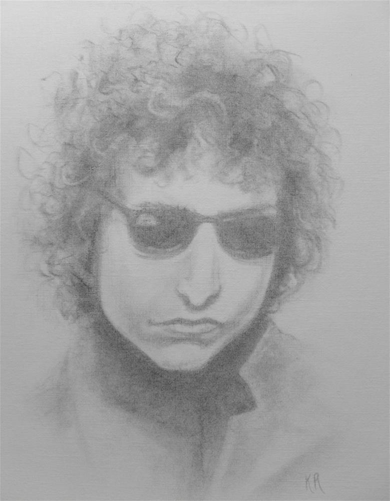 """Bob"" original fine art by Karen Roncari"