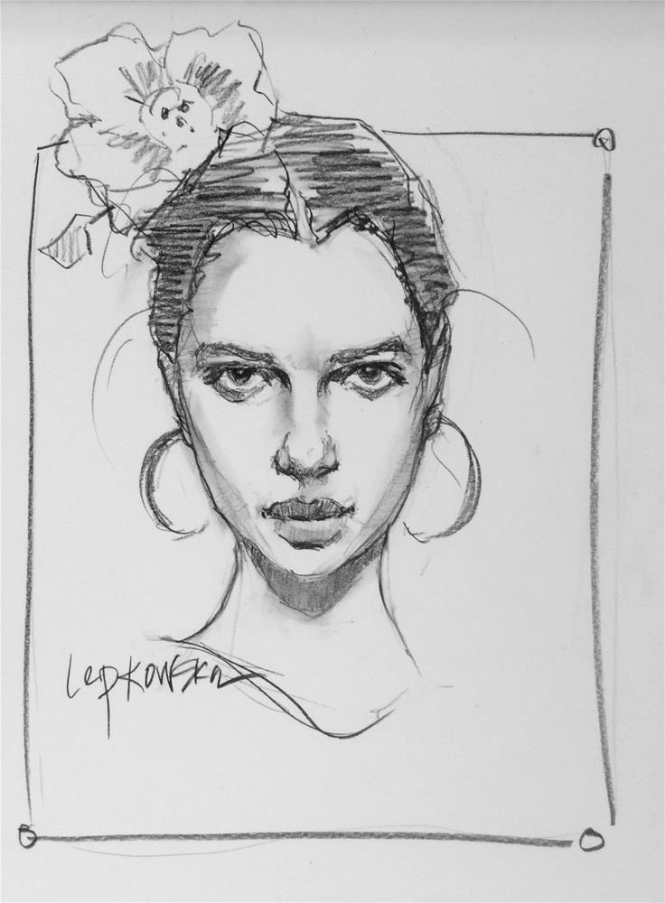 """Love those Flamenco Dancers"" original fine art by Laurie Johnson Lepkowska"