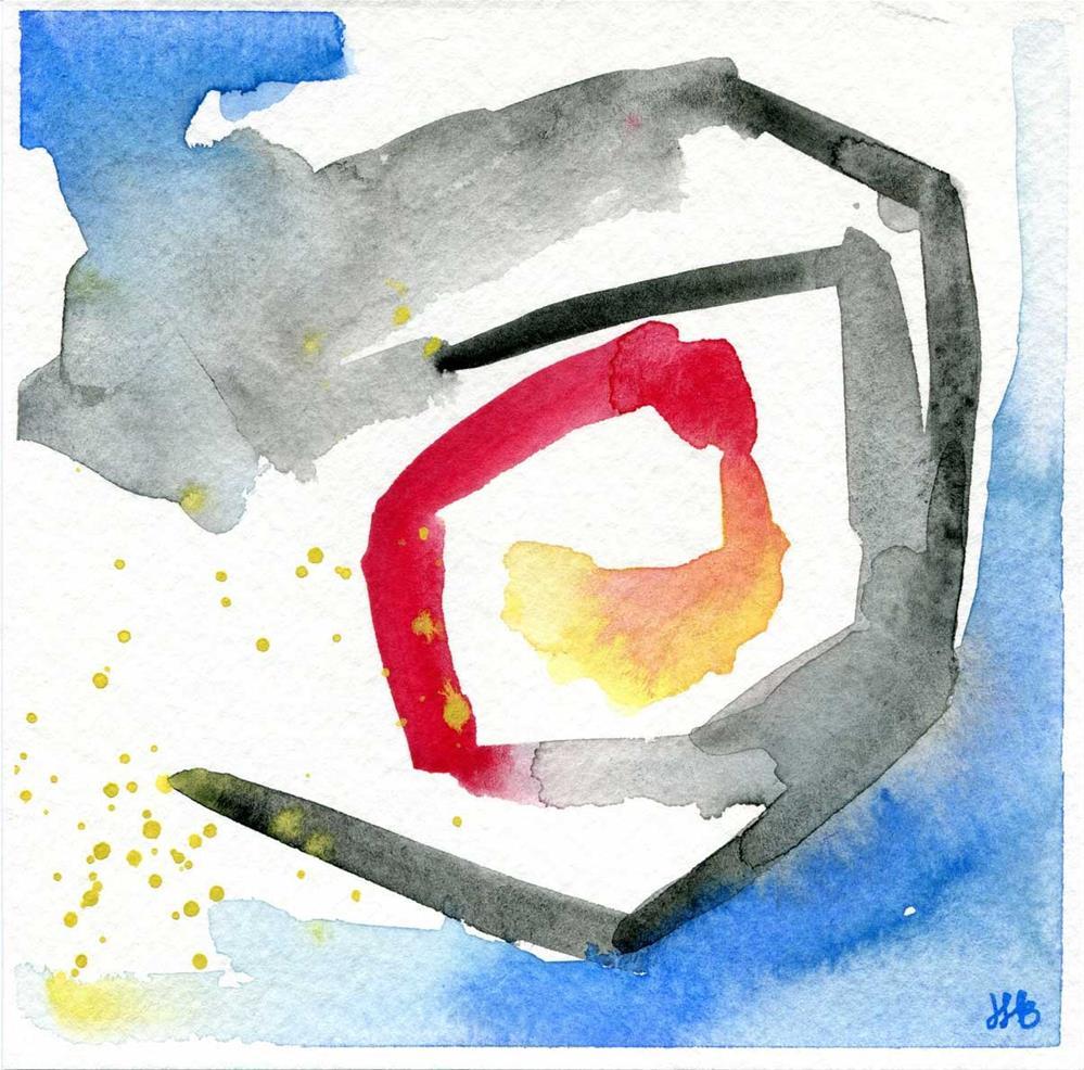 """""""Rotation"""" original fine art by Heather Bennett"""