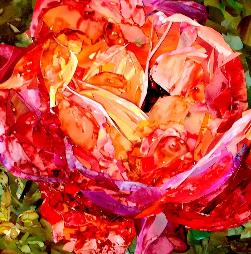 """hmmm rose?"" original fine art by Kristen Dukat"