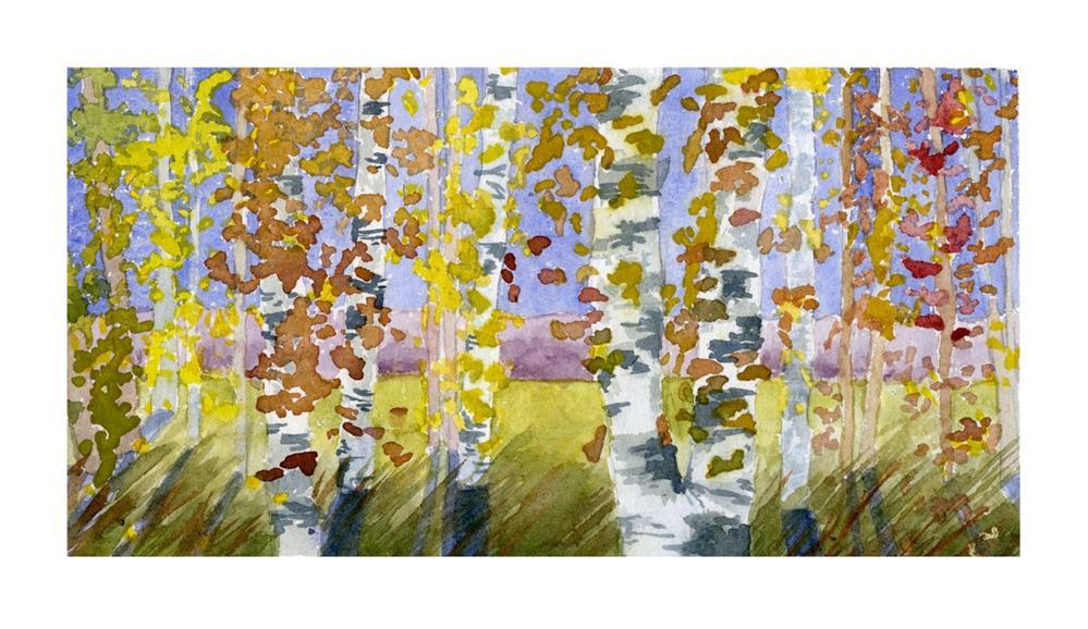 """""""Soft Breeze"""" original fine art by Eileen Hennemann"""