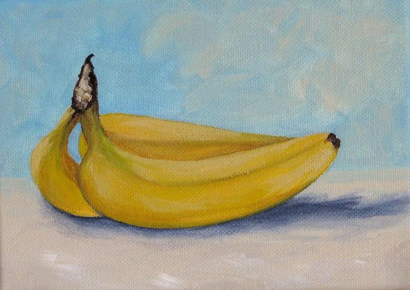"""Bananas IV"" original fine art by Torrie Smiley"