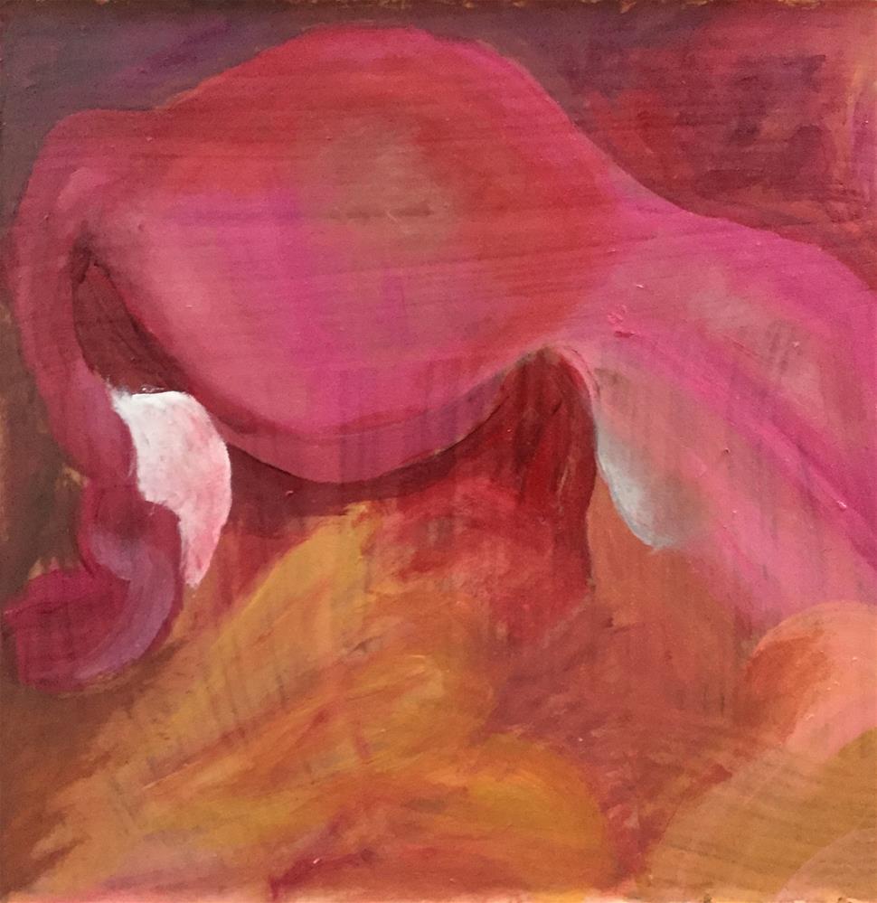 """""""Rhapsody in Red"""" original fine art by Madeleine Hoffmeister"""