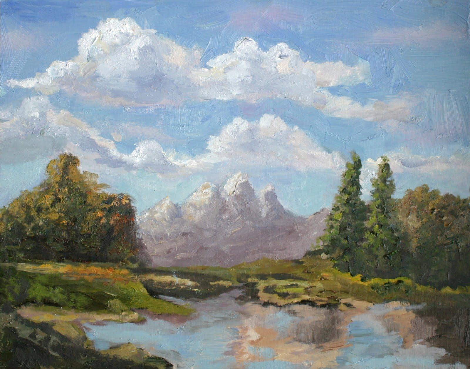 """Landscape Refresher"" original fine art by Kristen Dukat"