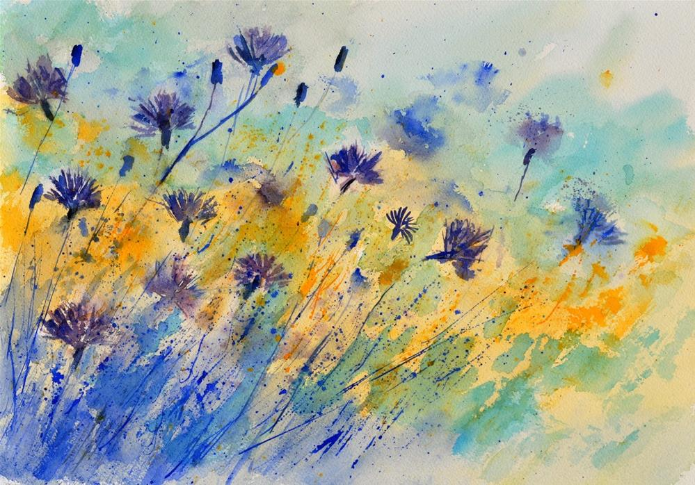 """watercolor 45417052"" original fine art by Pol Ledent"