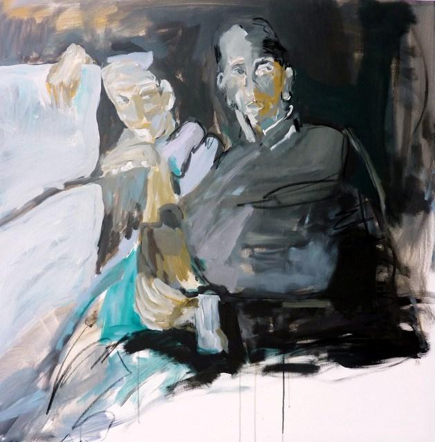 """Beziehungen /  relationship"" original fine art by Mila Plaickner"