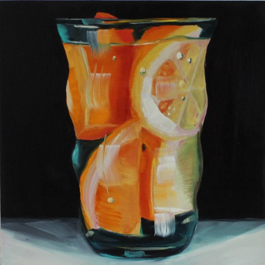 """Oranges and Lemons"" original fine art by Liz Pasqualini"