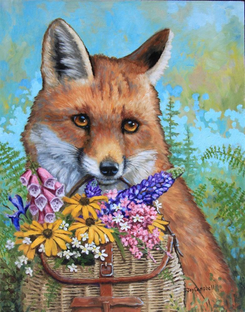 """For You"" original fine art by Joy Campbell"