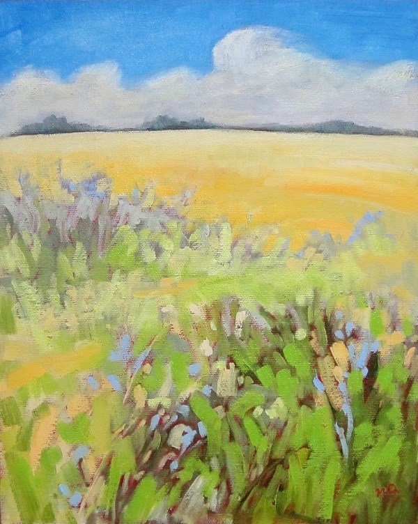 """Wild Places"" original fine art by Nicki Ault"