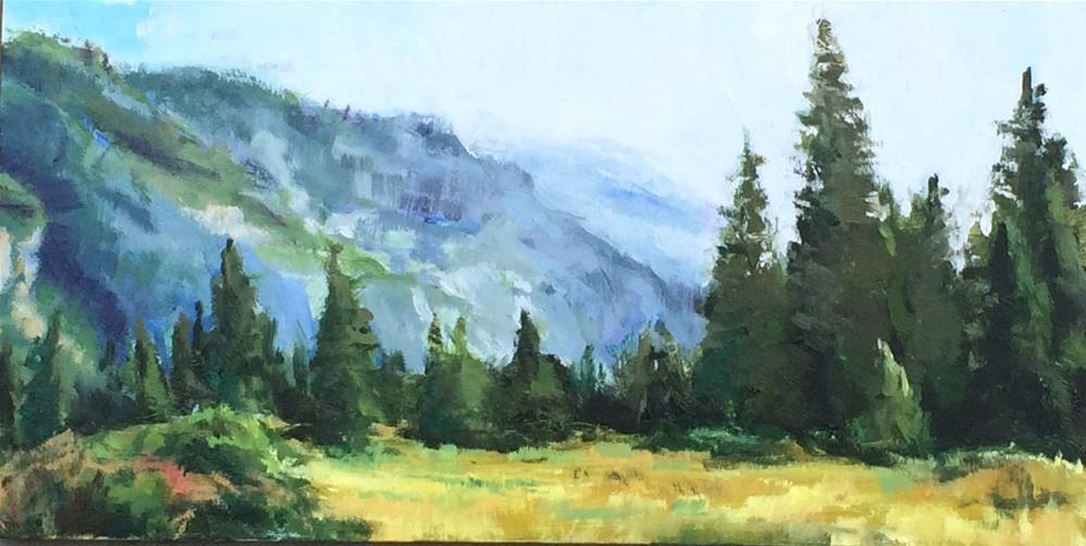 """Yosemite Valley"" original fine art by Richard Doyle"