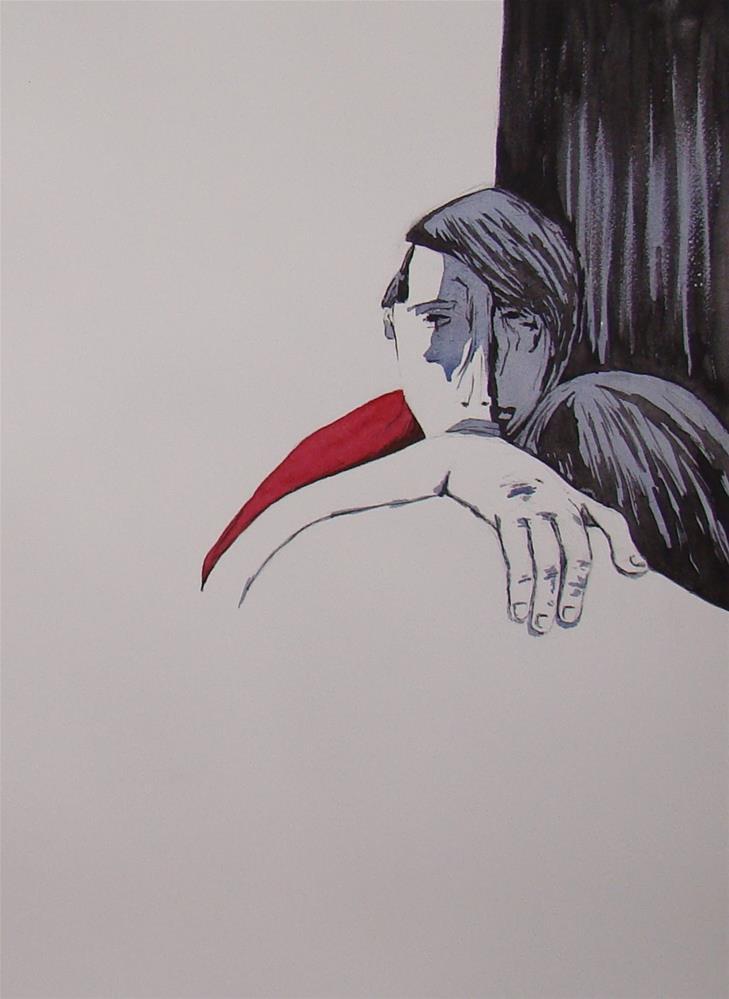 """""""My Lou"""" original fine art by Vito Cagnazzo"""