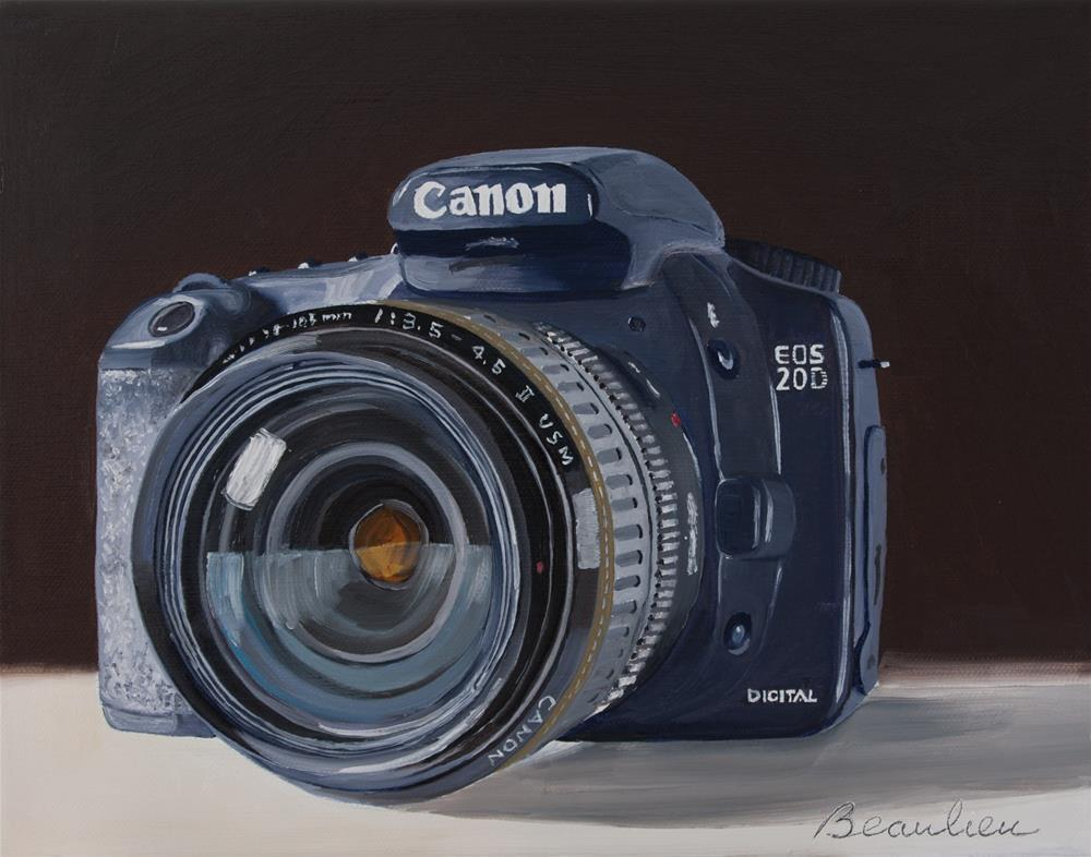 """Canon"" original fine art by Andre Beaulieu"