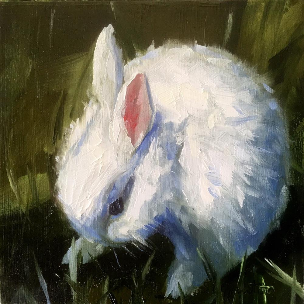 """Baby Rabbit"" original fine art by Gary Bruton"